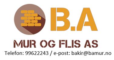 B.A Mur og Flis