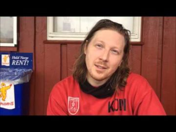 LandeTV intervju med trener før kamp mot Larkollen 2016